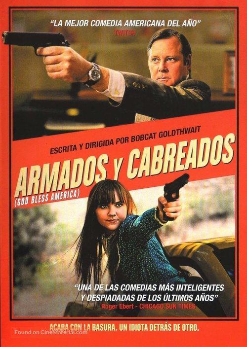 God Bless America - Spanish Movie Cover
