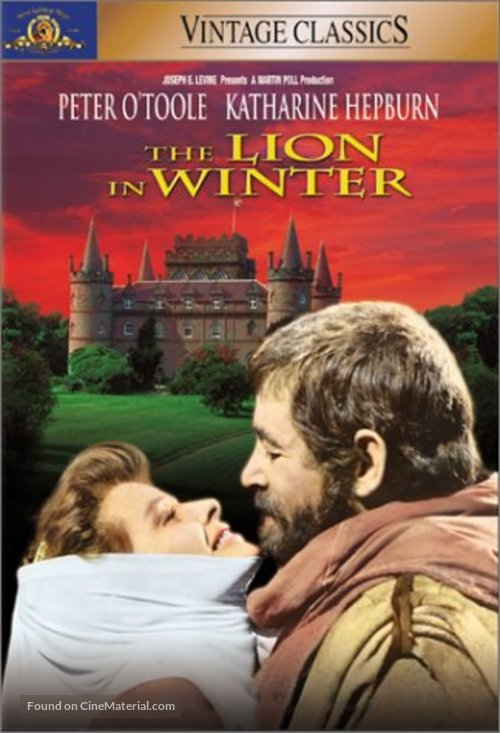 The Lion in Winter - DVD cover