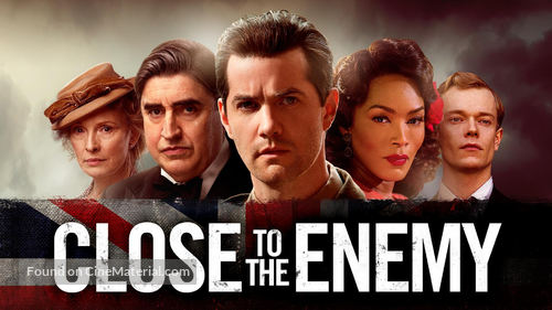 Close to the Enemy - British poster