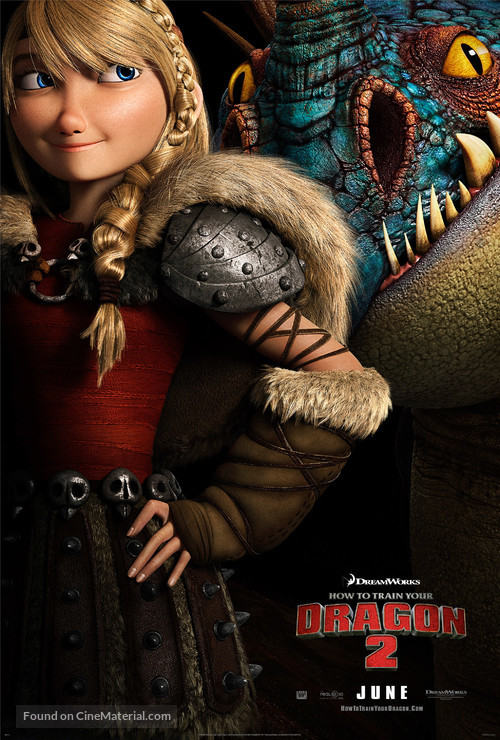 How to Train Your Dragon 2 - Movie Poster