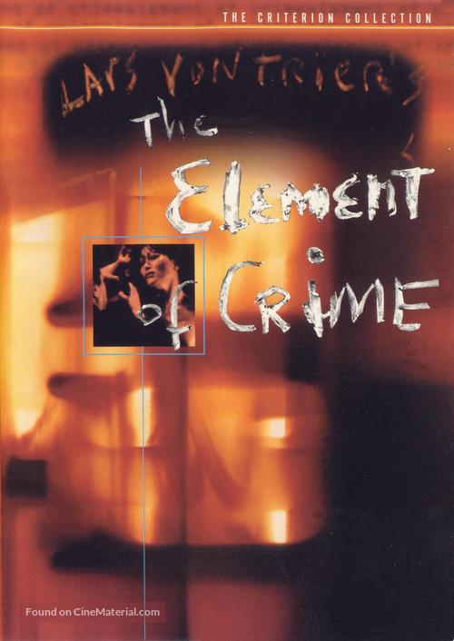 Forbrydelsens element - DVD movie cover