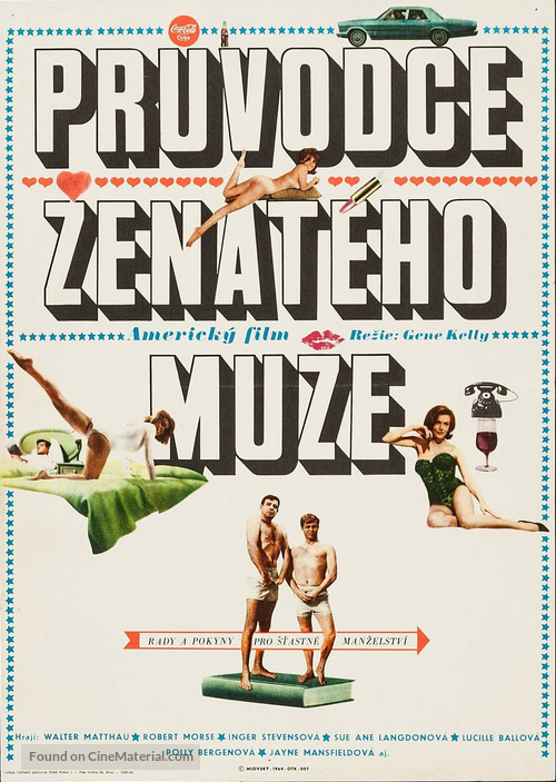 A Guide for the Married Man - Czech Movie Poster