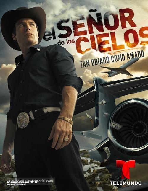 """""""El Señor de los Cielos"""" - Mexican Movie Poster"""