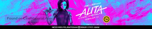 Alita: Battle Angel - Hungarian poster