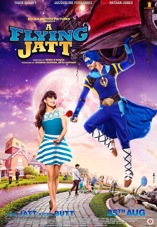 A Flying Jatt - Indian Movie Poster