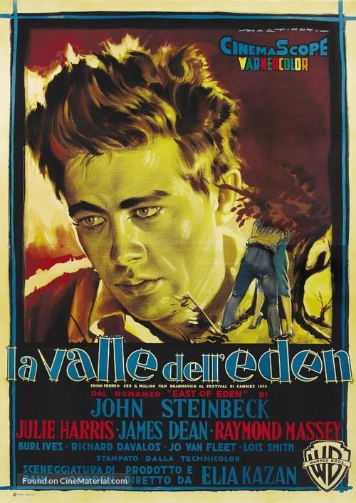 East of Eden - Italian Movie Poster