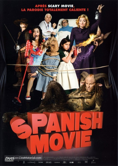 Spanish Movie - French DVD movie cover
