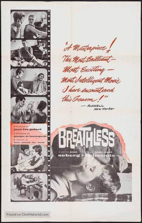 À bout de souffle - Movie Poster