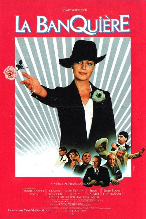 La banquière - French Movie Poster