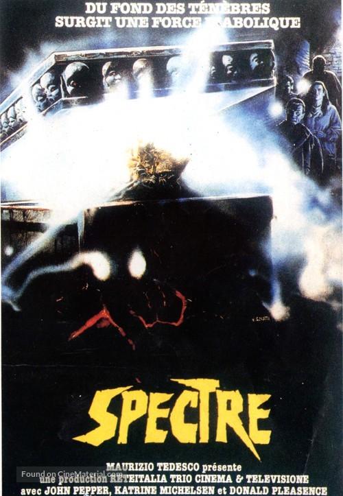 Spettri - French VHS movie cover