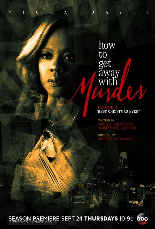 """""""How to Get Away with Murder"""" - Movie Poster"""