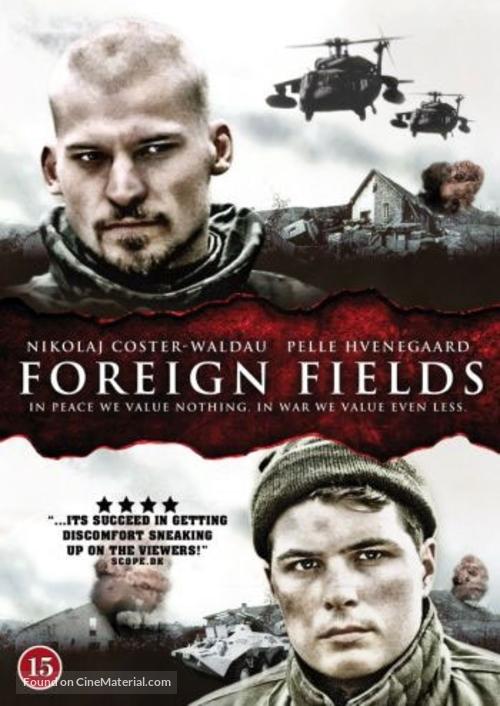 På fremmed mark - Danish DVD movie cover