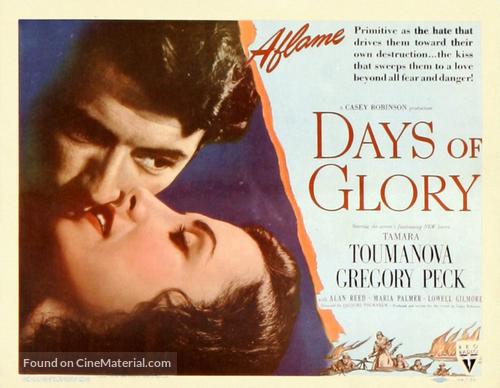 Days of Glory - Movie Poster