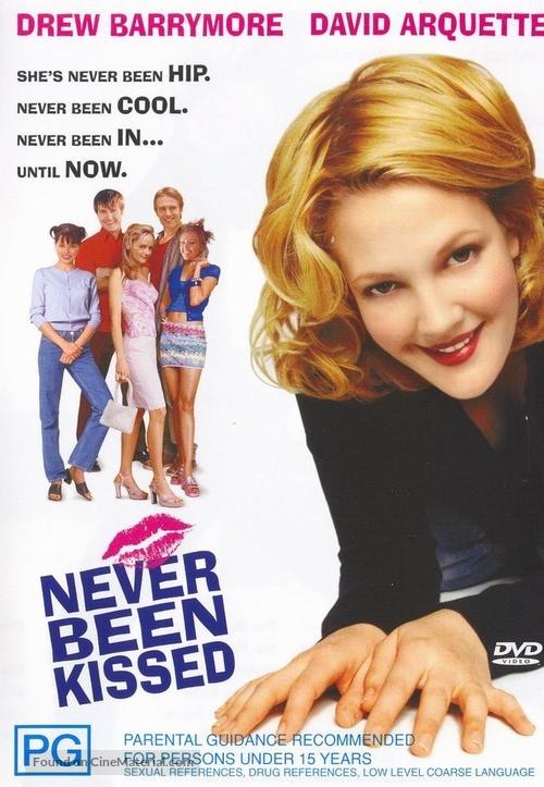Never Been Kissed - Australian Movie Cover