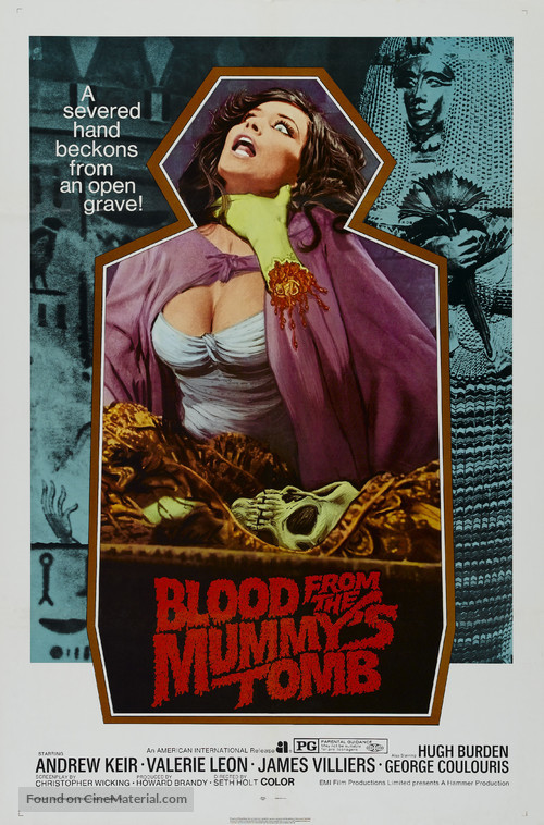 Blood from the Mummy's Tomb - Movie Poster