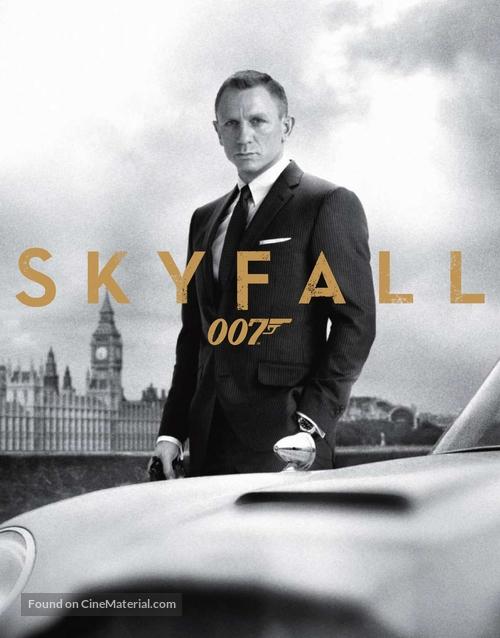 Skyfall - Blu-Ray movie cover