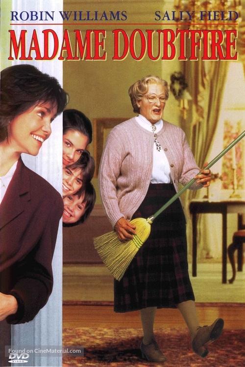 Mrs Doubtfire 1993 Movie Cover