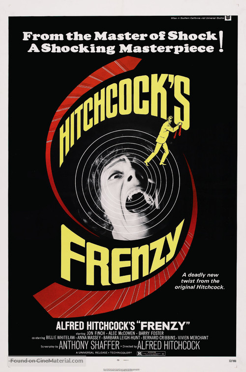 Frenzy - Theatrical movie poster