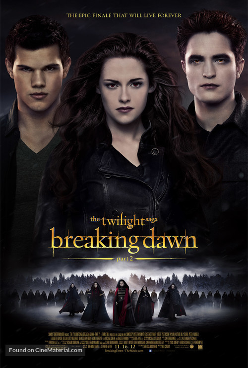 The Twilight Saga: Breaking Dawn - Part 2 - Movie Poster