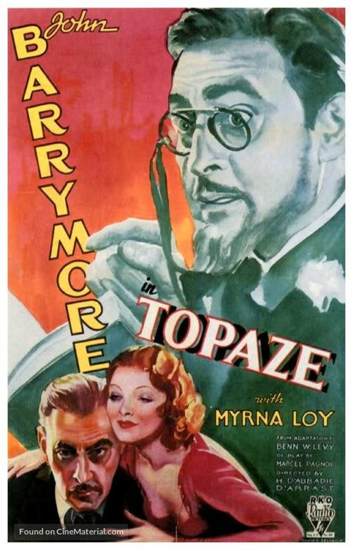 Topaze - Movie Poster