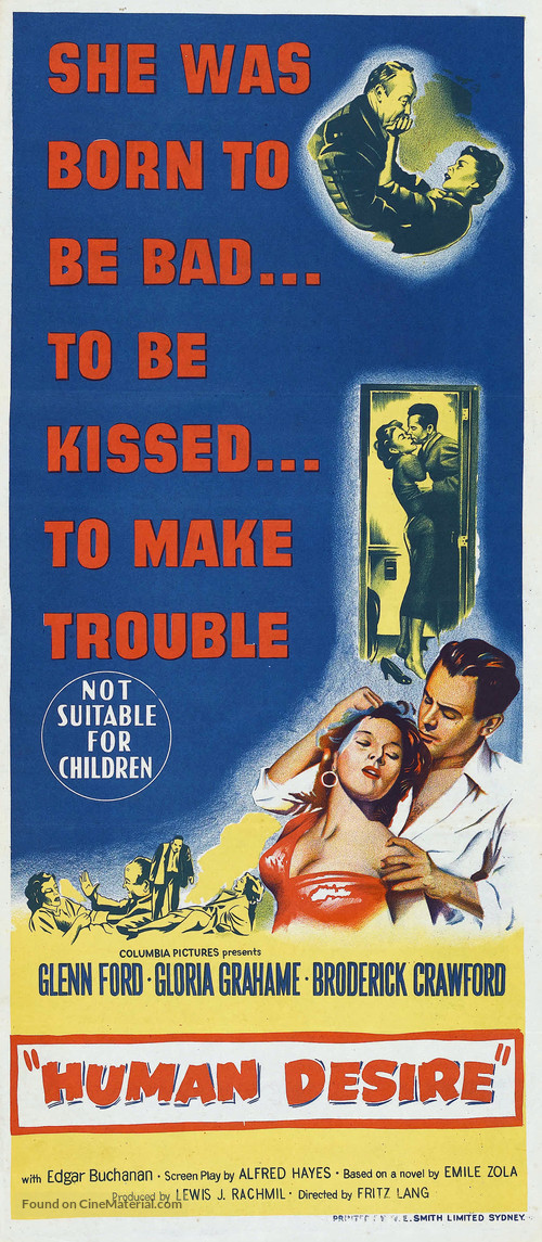 Human Desire - Australian Movie Poster
