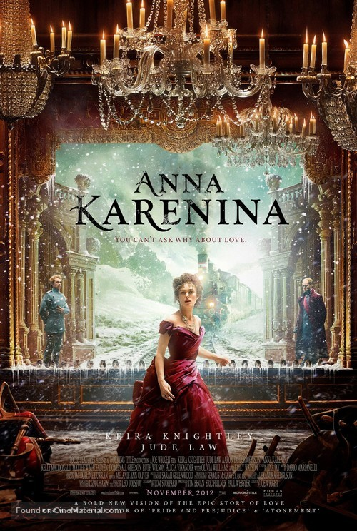 Anna Karenina - Movie Poster