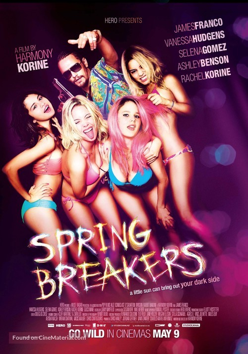 Spring Breakers - New Zealand Movie Poster