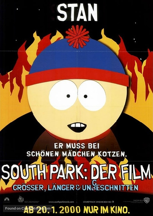 South park the movie official website