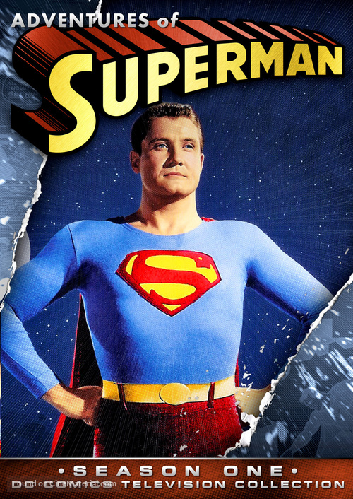 """""""Adventures of Superman"""" - DVD movie cover"""