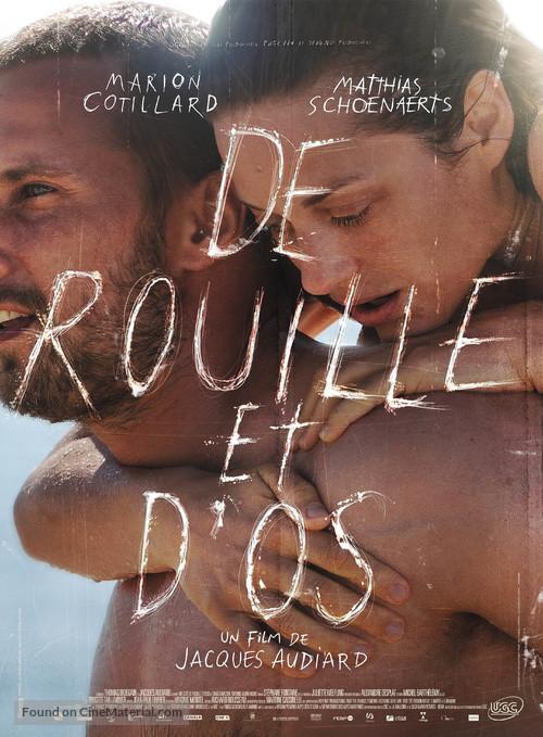 De rouille et d'os - French Movie Poster