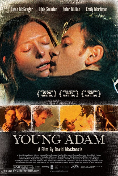 Young Adam - British Movie Poster