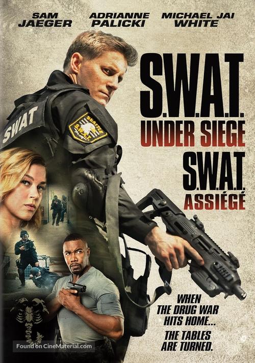 swat under siege french movie poster