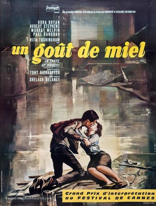 A Taste of Honey - French Movie Poster