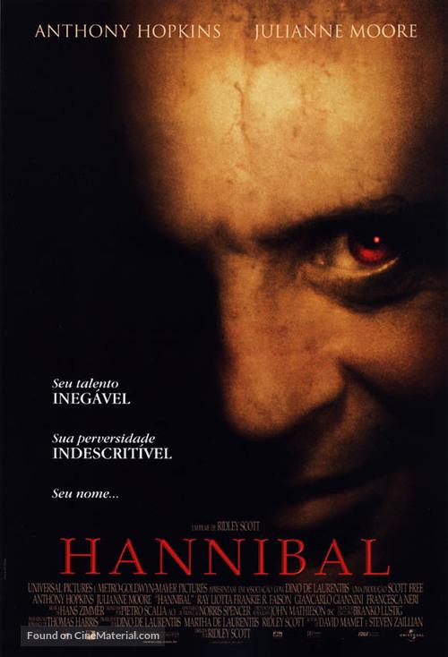 Hannibal - Brazilian Movie Poster
