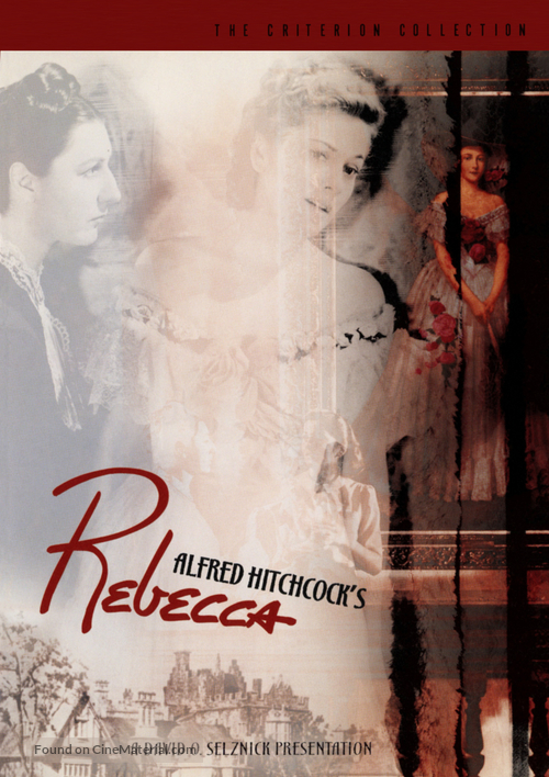 Rebecca - DVD movie cover