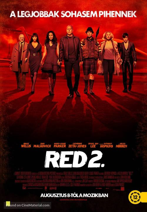 RED 2 - Hungarian Movie Poster