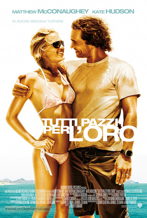 Fool's Gold - Italian poster