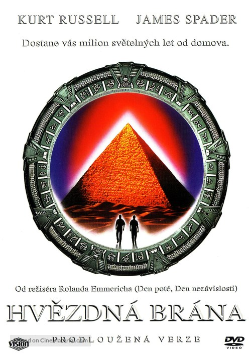 Stargate - Czech DVD movie cover