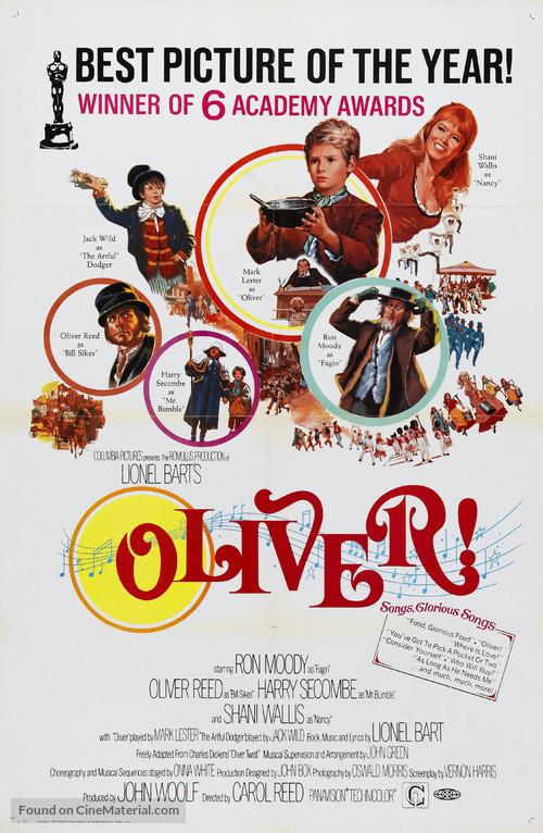 Oliver! - Movie Poster