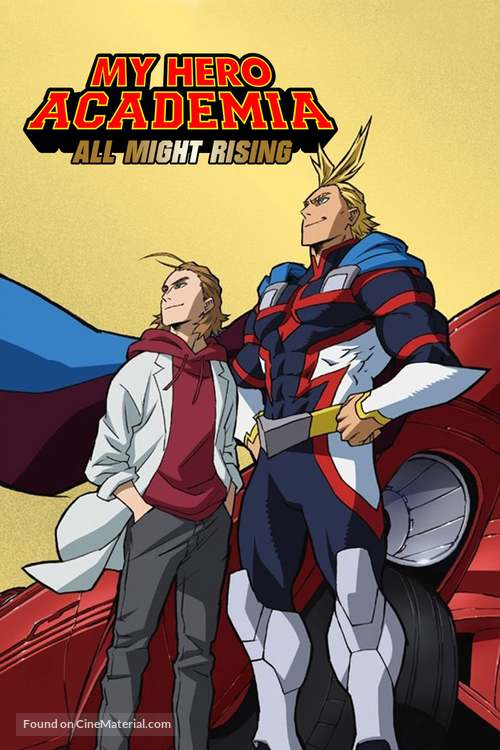 My Hero Academia: All Might Rising - Japanese Video on demand movie cover