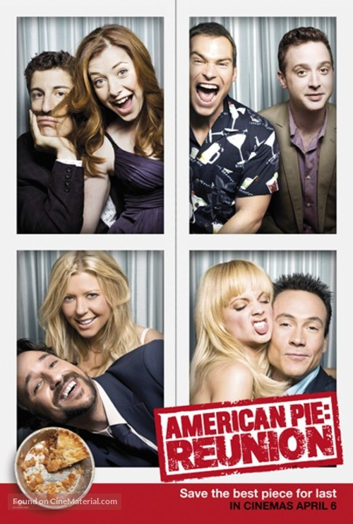 American Reunion 2012 Malaysian Movie Poster