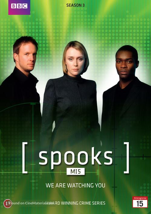"""Spooks"" - Danish DVD movie cover"
