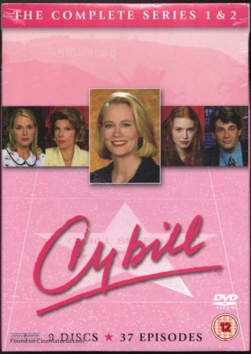"""Cybill"" - British DVD movie cover"