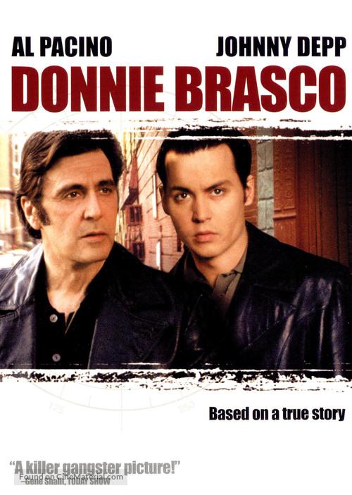 Donnie Brasco - DVD movie cover