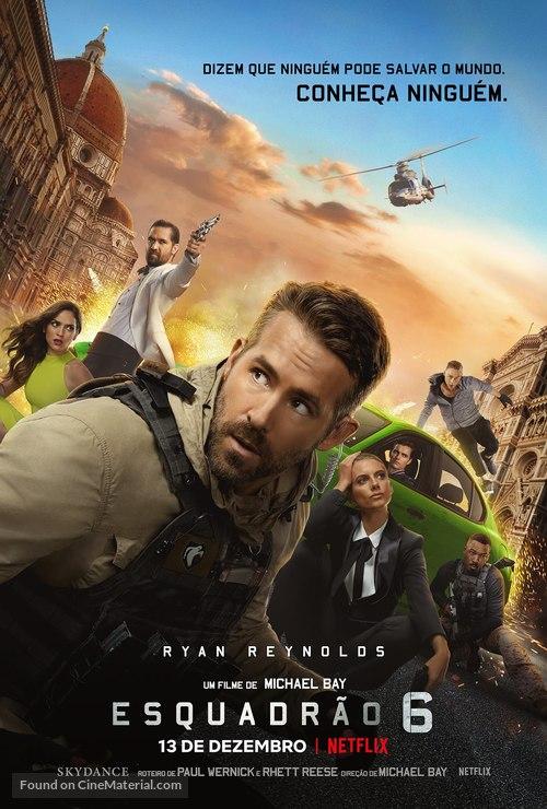 6 Underground - Brazilian Movie Poster