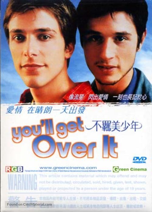 À cause d'un garçon - Taiwanese Movie Cover