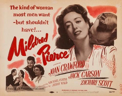 Mildred Pierce - Re-release movie poster