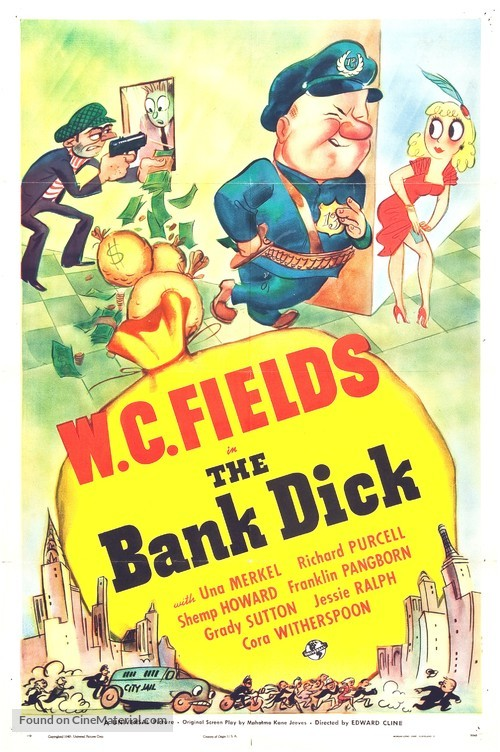 The Bank Dick - Movie Poster