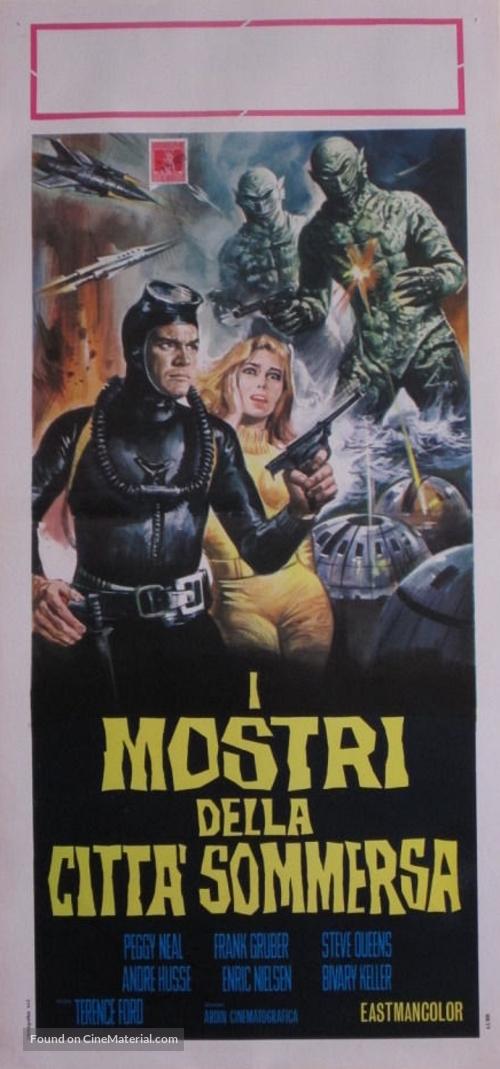 Kaitei daisenso - Italian Movie Poster