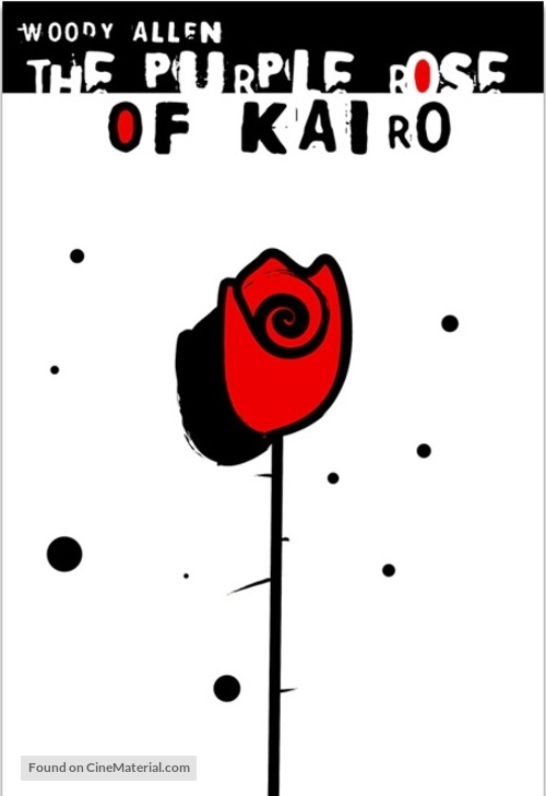 The Purple Rose of Cairo - Polish Movie Poster